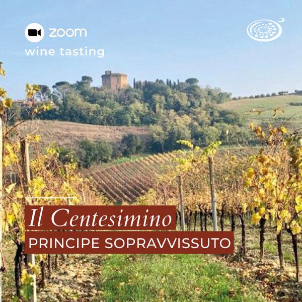 wine tasting zoom: Centesimino
