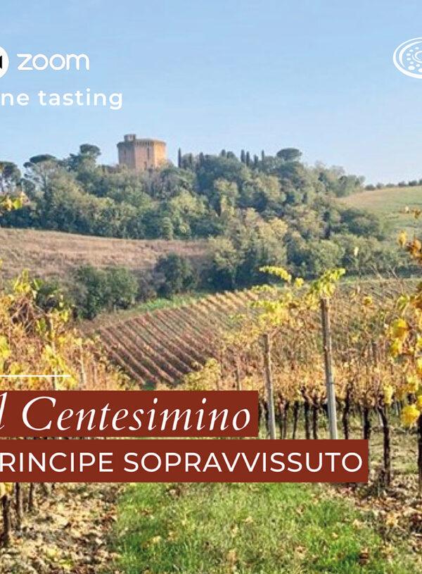 Wine tasting: il Centesimino, un principe sopravvissuto