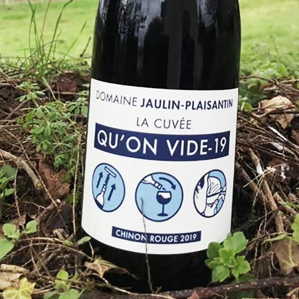 la Cuvée Qu'on Vide 19: l'idea diYves Plaisantin