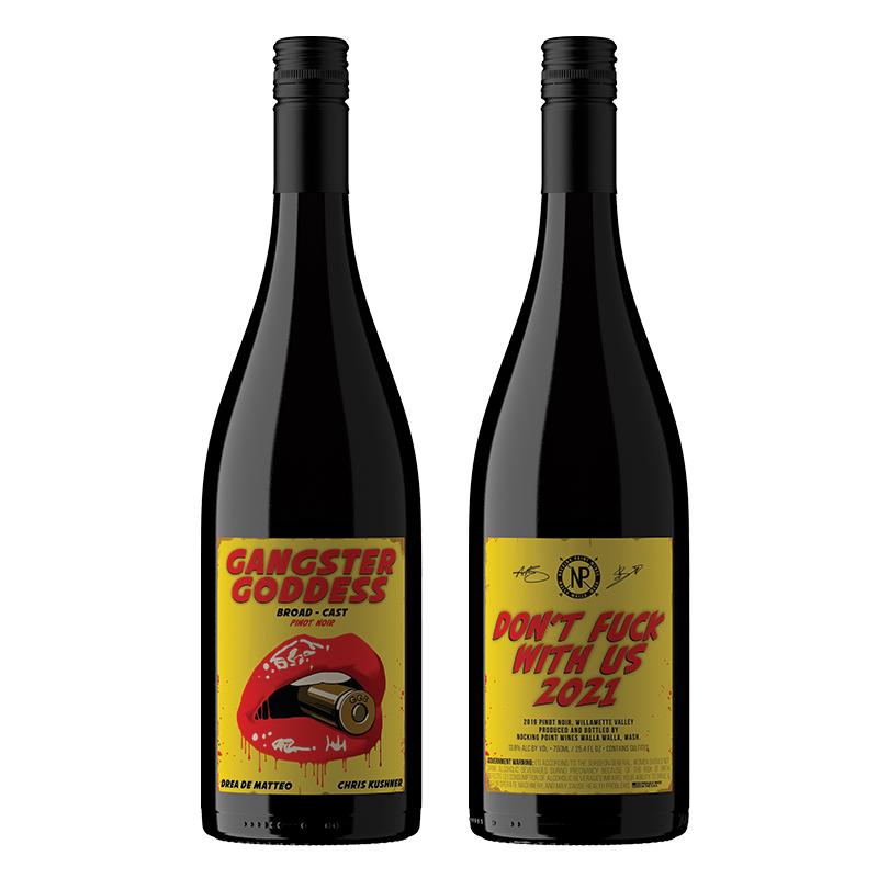 vino Gangster Goddess Broad-Cast Pinot Noir