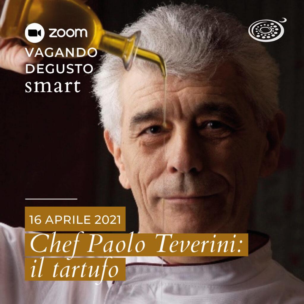 Vagando Degusto Smart con lo chef Teverini, all'insegna del tartufo